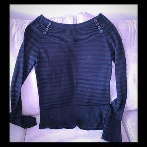 WHBM Boatneck sweater-size LARGE